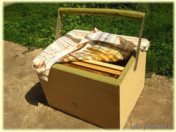 пчеловодный инвентарь - разноска на 9 рамок